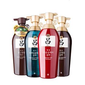 韩国吕洗发水红吕绿吕紫吕黑吕白吕棕吕400ml/瓶