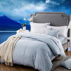 康尔馨五星级酒店60支床上四件套贡缎纯棉四件套简约1.8m床绣花