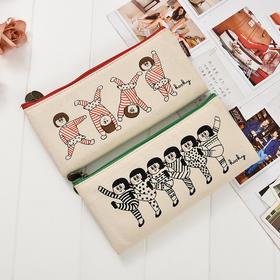 【笔袋】韩国小笔袋女 创意高中学生铅笔盒儿童文具包 学习用品