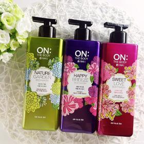 韩国LG 香水沐浴露ON THE BODY | 美白滋润保湿补水 持久留香男女士