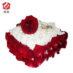 【爱情的见证】烈焰玫瑰~趣味艺术蛋糕(2磅起订)