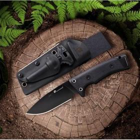 汉道 TD-01 洛克求生直刀 10大功能 D2高硬度工具钢