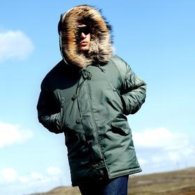 第三代DragonTooth龙牙N-3B极地防寒服 N-3B棉大衣男 加厚保暖 棉服 军大衣