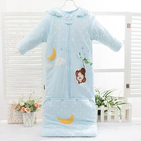 纯棉防踢被子春秋冬款加厚加长可脱卸保暖婴幼儿用品宝宝婴儿睡袋