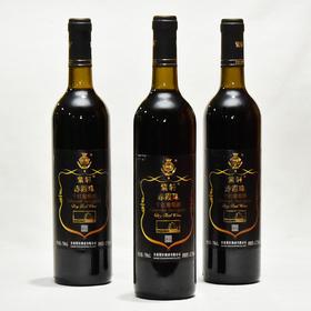 青海馆12.5度紫轩赤霞珠干红葡萄酒750ml