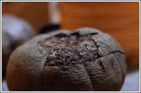 【大红袍柚子茶】十年份老茶