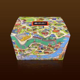 历时18个月匠心手绘重庆美食美景文化盒子
