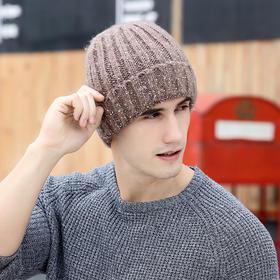 【帽子】*冬季爆款创意蓝牙帽子男士针织帽加绒毛线帽套头帽 | 基础商品