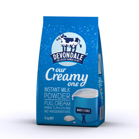 【澳洲品牌】Devondale 德运 成人奶粉 1kg