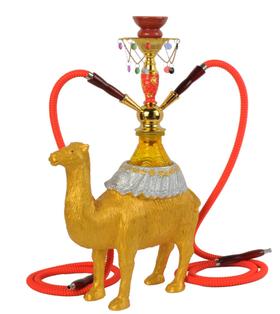阿拉伯国家馆中东神秘骆驼水烟壶