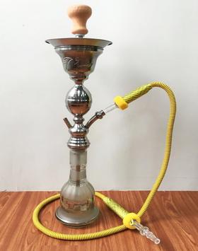 埃及款焊接葫芦一水烟壶