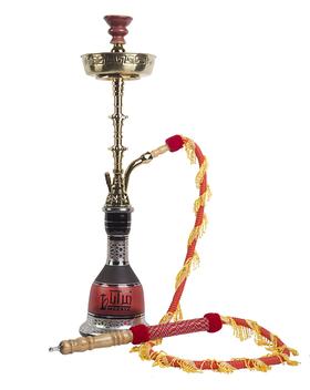 迪拜进口玛雅红水烟壶