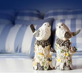 复古木雕小鸟装饰摆件