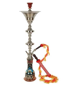 阿拉伯国家馆埃及不锈钢一节304水烟壶
