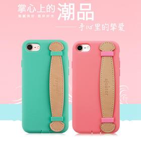 日本进口Simplism苹果iPhone 8/7 Plus硅胶套抗菌全保护套手机壳