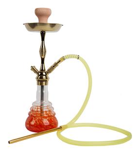 WY-223-金红水烟壶
