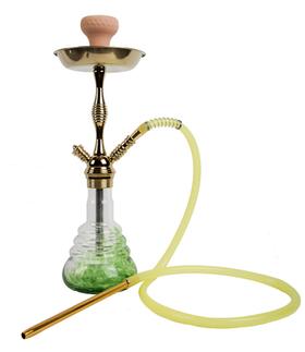 WY-223-金绿水烟壶
