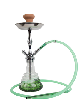 WY-223-白绿水烟壶