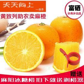 麻阳冰糖橙 甜橙 不打蜡 不打药 绿色水果 新鲜包邮