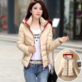 【美货】冬季新款羽绒棉服女短款韩版修身加厚小棉袄棉衣女外套潮特价