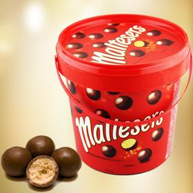 澳洲麦提莎Maltesers牛奶夹心巧克力麦丽素桶装440g