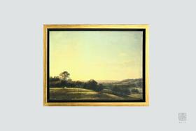 包邮  平凡景色中的不凡意境:康斯坦布尔 木框油画 精美书房装饰画