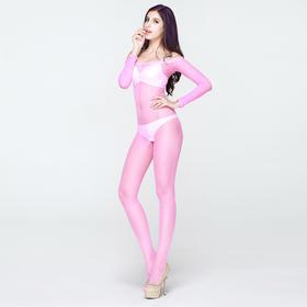 8822透视装连体情趣丝袜超性感透明诱惑套装