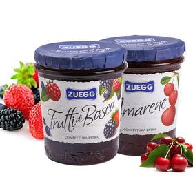 德国进口嘉丽牌果酱320g 四种口味面包吐司伴侣调味果酱