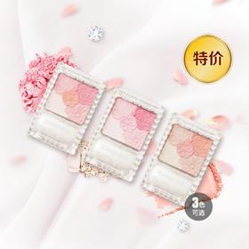 日本CANMAKE 花瓣雕刻五色哑光腮红