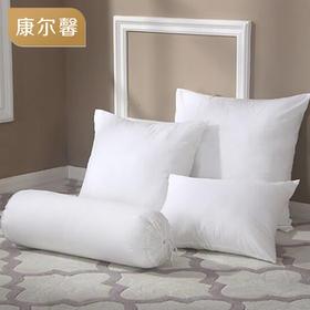 康尔馨床头靠垫抱枕芯沙发靠枕芯办公室45 50 60 70多尺寸可选(2只装)