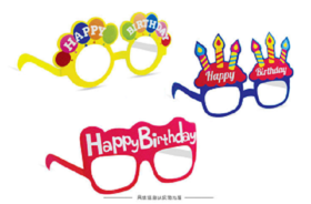 生日party眼睛