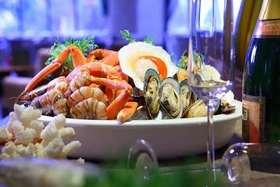 【贵州湖景酒店】中餐买一送二,晚餐买一送一,自助海鲜吃不够!!!