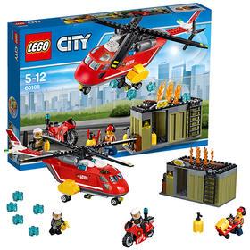 LEGO/乐高城市系列 消防直升机组合 60108