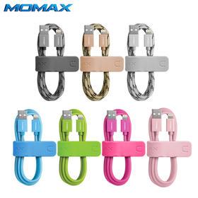 Momax苹果认证iPhone6数据线iPhone5s充电线6SPlus同步线6S数据线 编织线 授权线