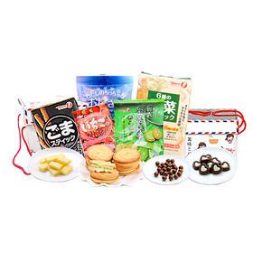 日本匠心礼盒11包  超值大礼包饼干巧克力糖果