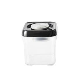 全球首创 0.5-1L 按压式真空储物罐 方形底 2色可选 罐身自带抽气泵 轻松按压保鲜