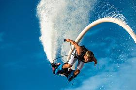【泰国线路】泰国旅游芭堤雅FlyBoard水上飞行器