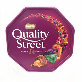【巧克力】英国Nestle Quality Street雀巢花街什锦巧克力 年货礼盒装