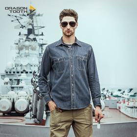 龙牙 Dragontooth 甲板CORDURA牛仔衬衫 商务休闲 都市通勤