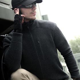 DragonTooth 潜伏者羊毛衫 羊毛贴身保暖 男士秋冬立领长袖毛衫