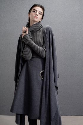 原创纯羊毛厚重超大保暖多种穿法披肩围巾