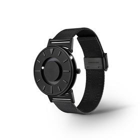美国EONE The Bradley 磁力触感手表|尊贵纯黑 触摸感知时间|瑞士石英机芯|钛金属表壳|防指纹涂层