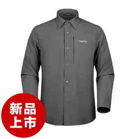 DRAGONTOOTH龙牙轻锋功能长袖速干衬衫男士商务休闲通勤衬衫