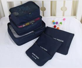韩版旅行收纳袋套装六件套