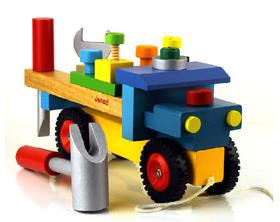 【法国】法国玩具儿童小孩幼儿益智动手拆装车
