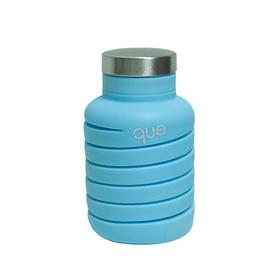 【安全环保】美国que可伸缩时尚环保水杯 可大可小随心变|方便携带|食品级硅胶材质