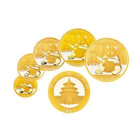 2017 熊猫金币5枚套币 | 基础商品