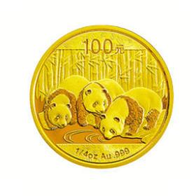 2013 熊猫纪念金币-1/4盎司 | 基础商品