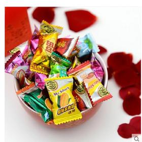 【徐福记】 散装混合糖果500克 水果糖 硬糖 零食 年货