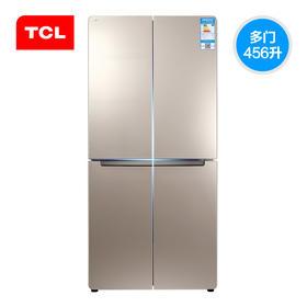 【TCL官方正品】TCL BCD-456KZ50  456升 对开四门冰箱 电脑温控  智能除霜